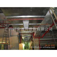 加工镀锌铁皮风管  大型钢铁厂生产的钢板制作的机制共板法兰风管