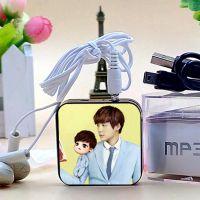 新款热销精品小礼品 方块插卡果冻MP3 李易峰周边 厂家批发可来图