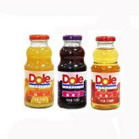 Dole都乐橙汁/苹果汁/葡萄汁 250ml 玻璃瓶整箱24瓶