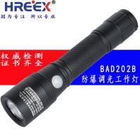 深圳BAD202B 袖珍防爆工作灯生产厂家 防爆手电筒 LED强光手电筒