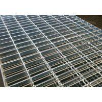 厂家定制车库高承载热镀锌重型钢格板 供应踏步钢格栅盖板方型孔
