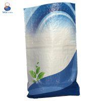 米色BOPP彩膜编织袋 覆膜编织袋 多种图案 多种规格
