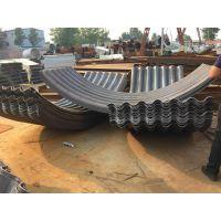 锦坤热浸镀锌沥青金属波纹涵管 市政排水建设用波纹涵管 JKHG-1.5-3.0