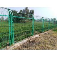 南水北调护栏网 河道水渠防护网 光伏护栏网扁铁防护网框架护栏网