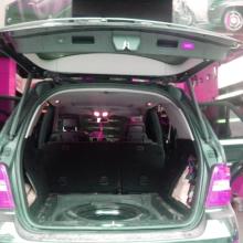 奔驰ML400/ML320电动尾门改装,用全新的方式使用后备箱