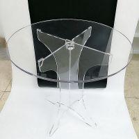 工厂加工定制批发亚克力桌子家具客厅室外茶几有机玻璃工艺品