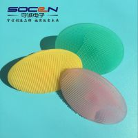 上海厂家食品级液态硅胶制品 化妆刷硅胶洗刷垫 液态硅胶包胶
