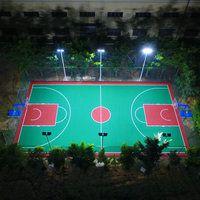 学校篮球场灯杆尺寸 中山小区太阳能路灯杆安装 柏克LED灯具批发