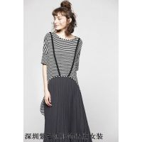国际化视野紫馨源品牌折扣女装尾货货源春夏开始发售