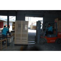 城阳木托盘松木熏蒸证明ht热处理场站打托缠膜木托厂家