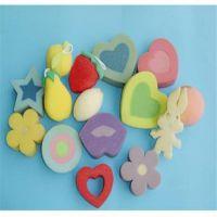 厂家供应 海绵彩色装饰品 海绵小花礼品玩具 异型冲压玩具