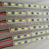 凯迪拉led5050硬灯条 72灯 12v低压 裸板厂家直销