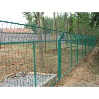 河南郑州景区园林护栏网 防护网菜园果园农场防护网 欢迎参观安装工地