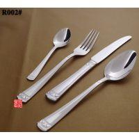 德国品质304不锈钢西餐餐具套装刀叉勺三件套牛排刀叉勺子全套加厚款