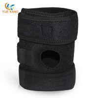 OK面料弹簧护膝 高强度户外登山跑步运动护膝 运动护具生产厂家