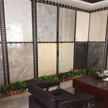 800/600木地板样品展示板 铁板方型展示板架子尺寸 廊坊市瓷砖洞洞板展板
