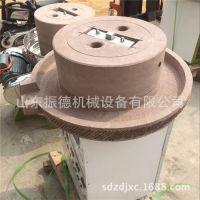 振德直销 半自动花生米浆石磨机 砂岩石电动豆浆石磨机