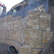 热镀锌格宾网 钢筋石笼挡土墙 电焊格宾网
