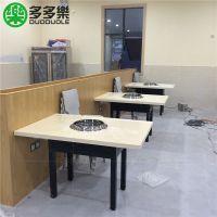 韩国烧烤店桌椅生产厂家 韩式烧烤店桌椅哪里可以定做