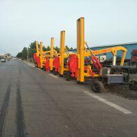 有实力的公路护栏打桩机生产厂家彤昭高速护栏打桩机