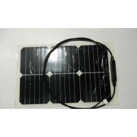 sunpower高效柔性太阳能发电板 SP20W半柔性高效太阳能户外充电板