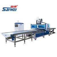 赛维 板式家具数控开料机 双工位开料机