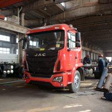 江淮能拉20吨的单桥挖机拖车拖板车厂家价格