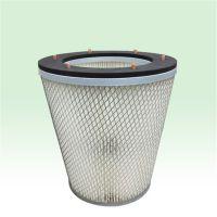厂家生产的螺丝螺栓固定型无纺布除尘滤芯滤筒环保耐用