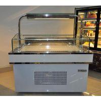 喜之洋边岛柜冷藏冷冻 中心岛柜展示商用敞开式蛋糕展示柜厂家