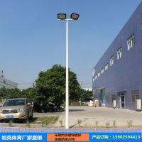 江西篮球场灯杆厂家 户外8米锥形灯杆价格 篮球场灯杆批发安装