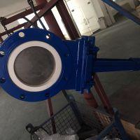 厂家直供手动耐磨闸板阀PZ73TC-10C陶瓷密封插板阀