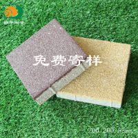 蜗牛陶瓷 厂家直销生态陶瓷透水砖200.200.55mm 规格全