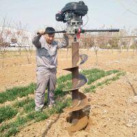江苏供应新款手提式树木挖坑机 汽油挖坑机