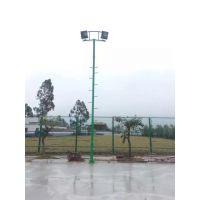 广西南宁篮球场灯杆照明室外球场灯杆厂家南宁球场灯光高杆灯