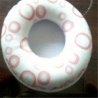 长期生产印花纹椭圆形皮耳套 可来样定做高周波热压皮耳罩