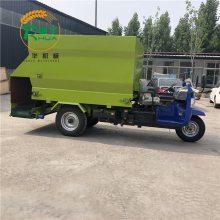 山东曲阜生产各种撒料车 电动柴油机自动撒料车 小型投喂车制作