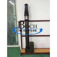 博辰QD-BC-6 气动升降杆 移动照明灯车 军用避雷针升降杆