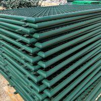 供应运动场围栏,PVC浸塑勾花护栏网,真实工厂