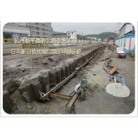济南钢板桩施工,潍坊拉森钢板桩施工队伍,聊城钢板桩围堰施工队