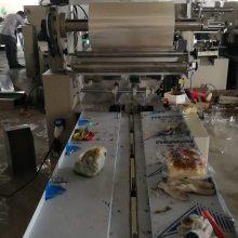 Tian月饼枕式包装机老婆饼糖果面包包装机型号zt-250型每分钟50-120包自动封口计量
