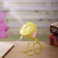 直销USB小猫加湿器 创意可爱USB迷你静音家用办公室桌面厂家