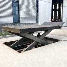 绥化市厂家定做载重3吨固定式液压升降货梯 剪叉式电动升降举升平台