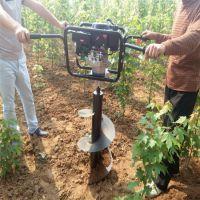 果树种植用钻坑机 多型号施肥挖坑机 浩发