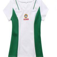 广州定做促销服套装 工作服酒店工作服咖啡厅服装定做印LOGO