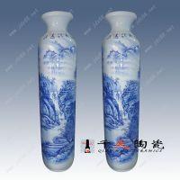景德镇千火陶瓷器 落地大花瓶 手绘陶瓷花瓶 客厅装饰品摆件