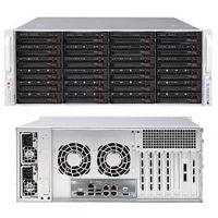 Supermicro 846BE16-R920B 4U机架式 24x 3.5寸硬盘位 双电源920W