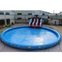 方形可定制大型充气水池 厂家直供水上项目游泳池 游乐设备船池玩具水池定制