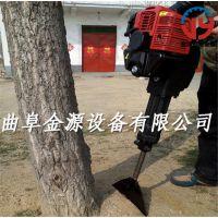 移苗专用起树挖树机 便携式苗圃挖树机
