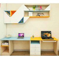 现代简约风书柜书桌
