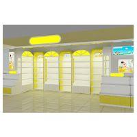 厂家定制展示柜 童装专卖店展柜设计定制 新店货架制作